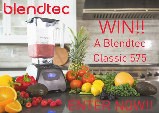 WIN A Blendtec Classic 575Enter Now