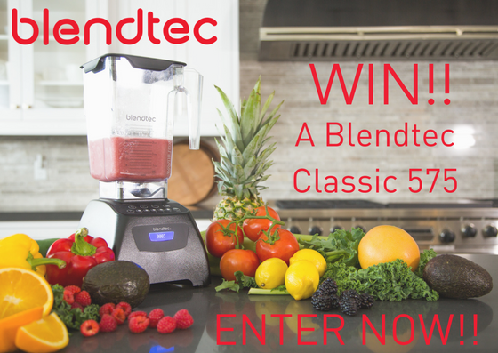 WIN A Blendtec Classic 575Enter Now